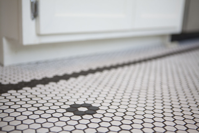 Hex Tile Kitchen Floor Chicago Flickr Photo Sharing