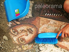 Recuperando un mosaico romano