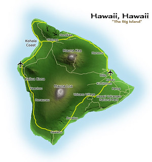 Hawaii , big island     overview | by Bruce Tuten