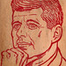 JFK woodburning piece by JonWalters