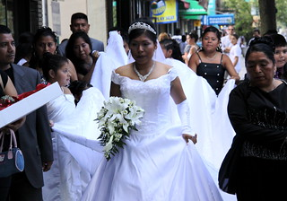 Mexican Bride, Arthur Avenue - The Bronx