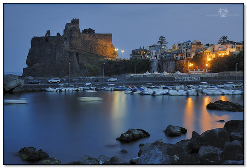 Aci Castello - When the night falls down