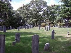 Second Parish Burial Ground, Burlington Massachusetts