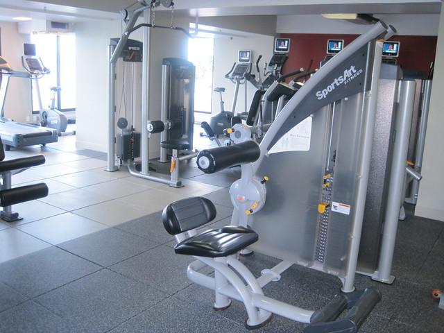 Fitness Center Locker Room Design