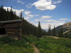 Abandoned Cabin near Conundrum Hot Springs