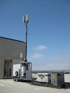 Portable Cellular Phone Tower