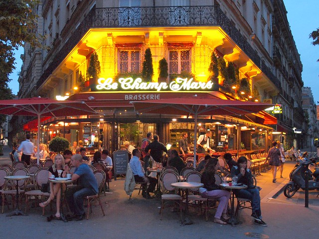Cafe Lutetia Paris