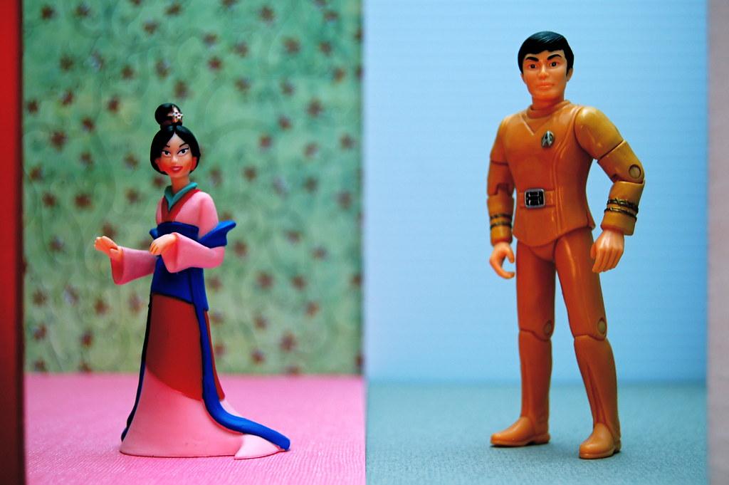 Fa Mulan vs. Lieutenant Commander Hikaru Sulu (213/365)