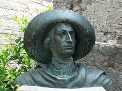 Castello Scaligero di Malcesine - Bust of Goethe