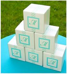wedding favors, box,