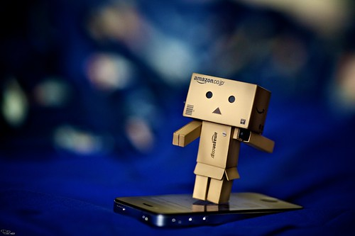 Danbo tries this.. internet surfing?!