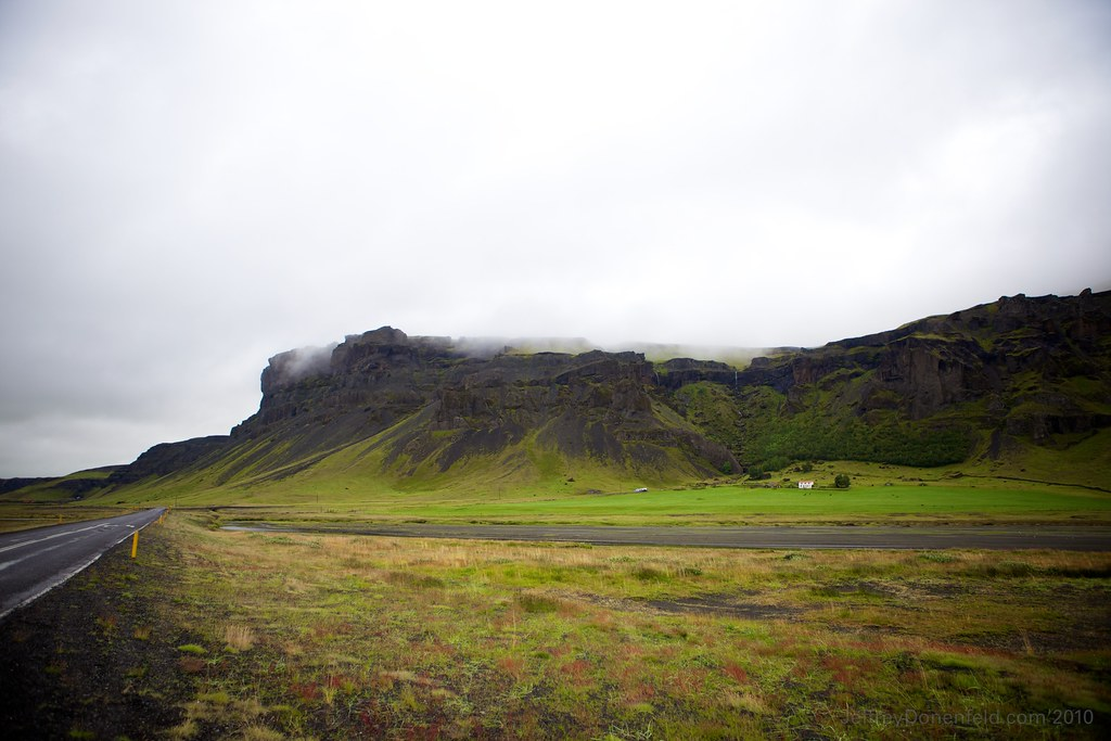 Farm near Vik, Iceland