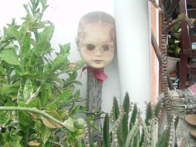 Garden Scarecrow Doll Used to Ward Off the Evil Eye in Guyana