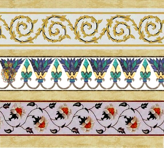 Marble Inlay Borders : White marble inlay art tiles and borders flickr photo