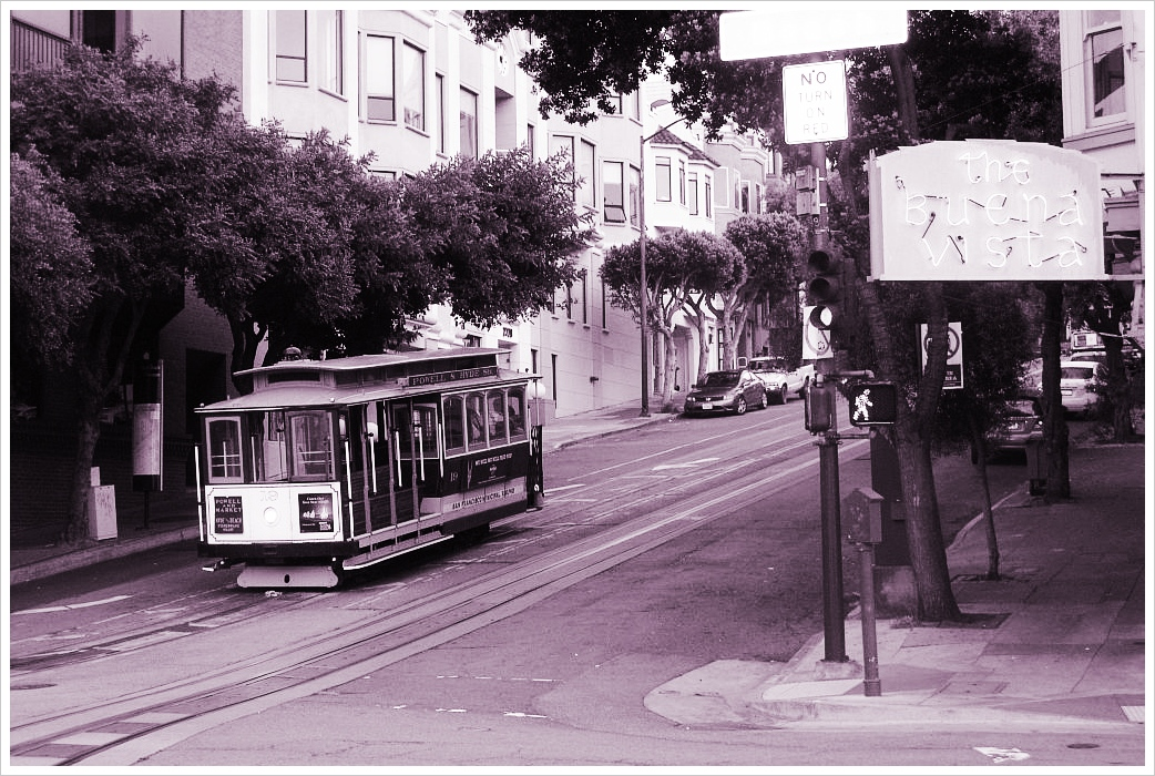 Cable Car at Ghiradelli Square