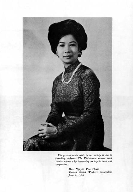 Madame Nguyen Van Thieu