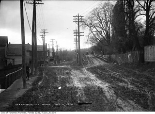 Davenport Road looking west over Bathurst Street