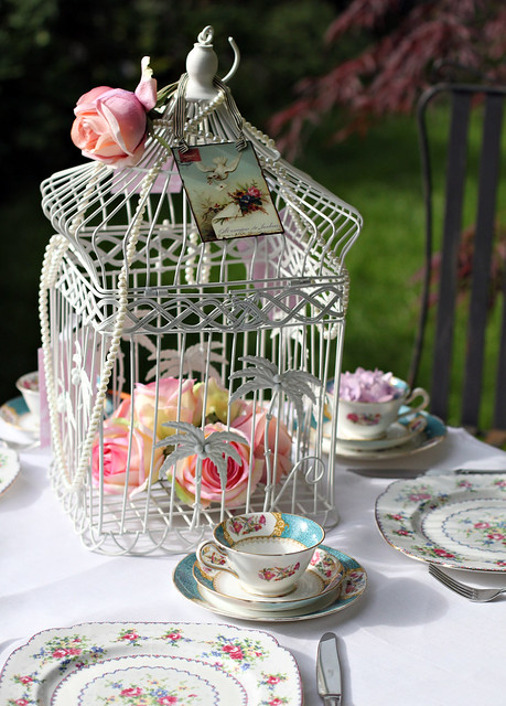 For vintage bird cages accessories wedding props and vintage china please