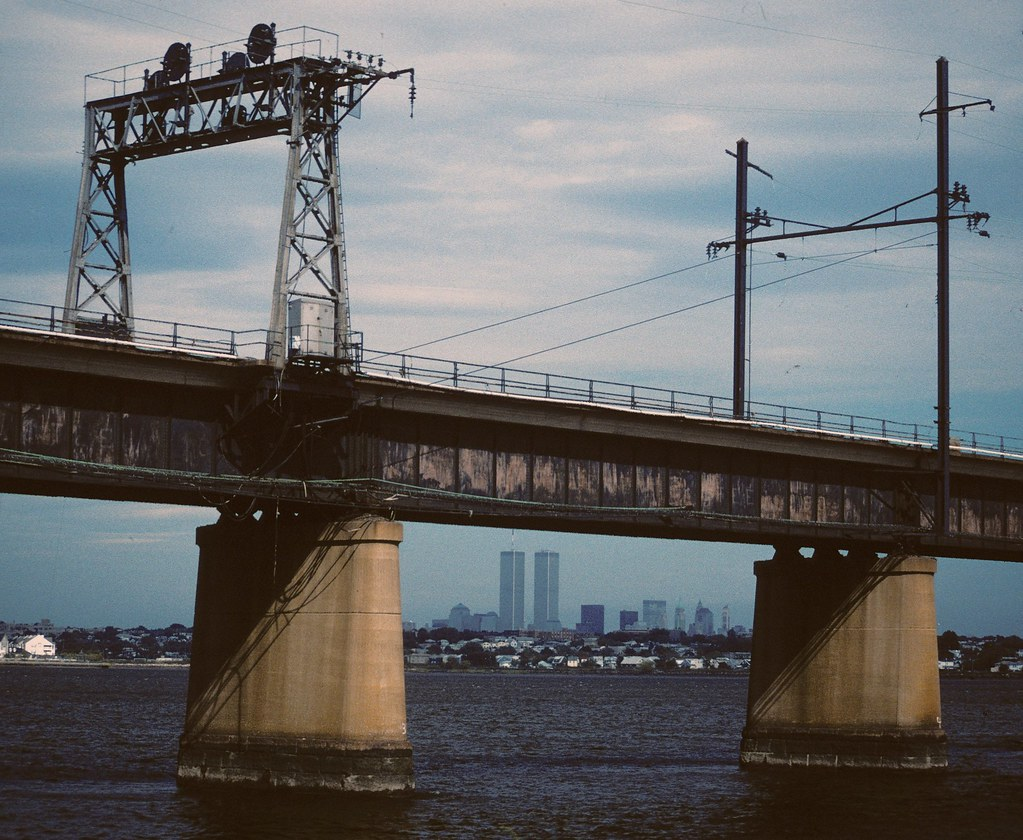 Newark Bay RR Bridge & WTC