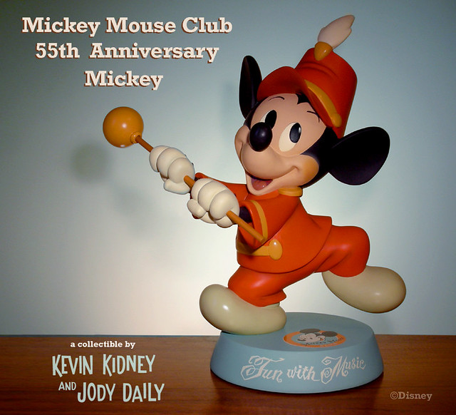 Mickey Mouse Club 55th Anniversary Figurine
