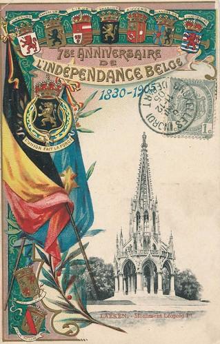 75 Jahre Unabhängigkeit Belgiens