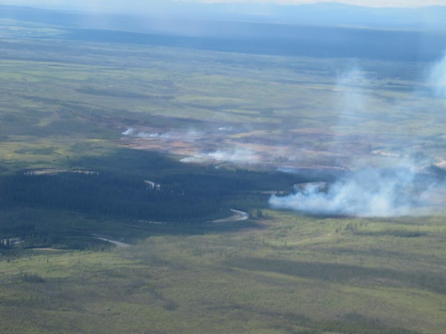 Forest Fire in Alaska