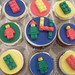Lego Cupcakes - <span>Lego cupcakes made for a little boy's 4th birthday party.   www.cupcakebite.com</span>