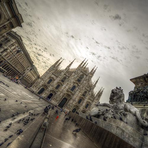 Milano ♥ Piazza Duomo ♥ Immortal ad Vitam
