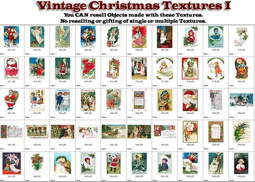Shabby Chic Vintage Christmas Textures I by Shabby Chics