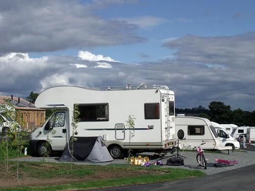 Teesdale Barnard Castle, Caravan Club Site