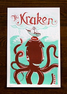 The Kraken - Monster Friends Poster Series