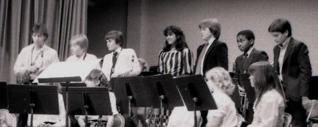 84_11.13a - The Middle School Band, Middle Row