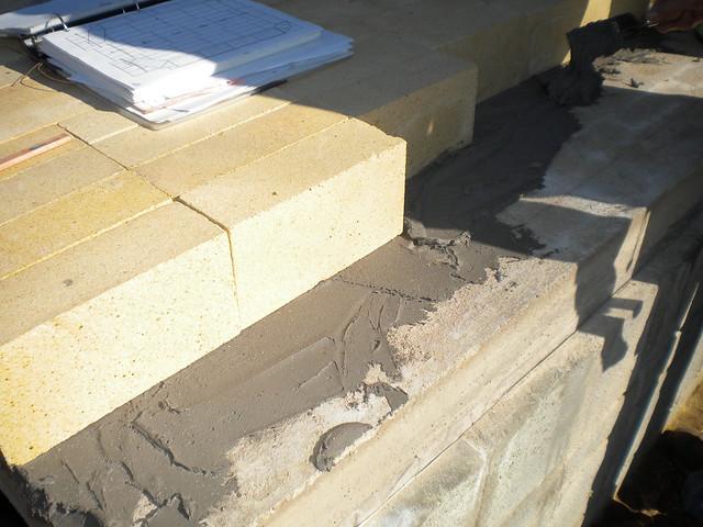 Fire Brick Cement : Photo