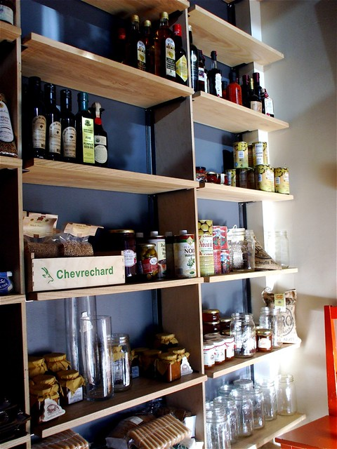 Shelf of Pickled Foodstuffs