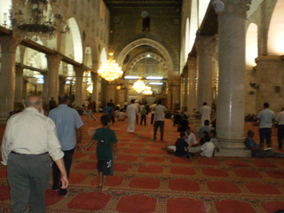 To Al-Aqsa; Inside Al-Aqsa