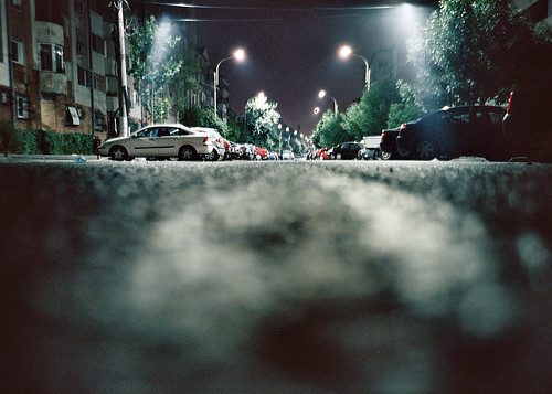 street eye night lomo lca lomography rat kodak iso400 kodakportra400vc romania portra bucharest rateye rateyeview
