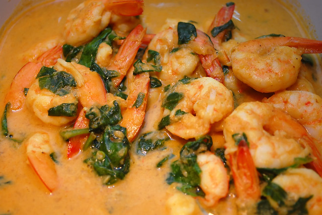 Curried Shrimp with Spinach | Flickr - Photo Sharing!