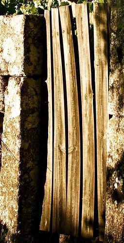 Rural portuguese door