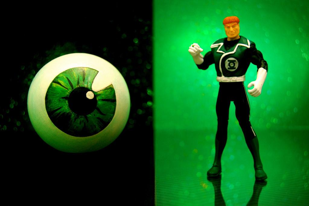 Emerald Eye Of Ekron vs. Green Lantern Guy Gardner (239/365)
