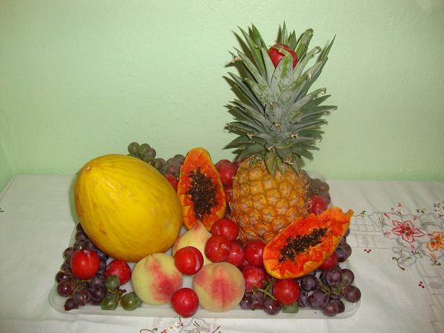 nossa mesa de frutas no ano novo Flickr Photo Sharing! -> Como Decorar Frutas Para Ano Novo
