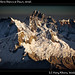 Southern Cordillera Blanca at Dawn, detail