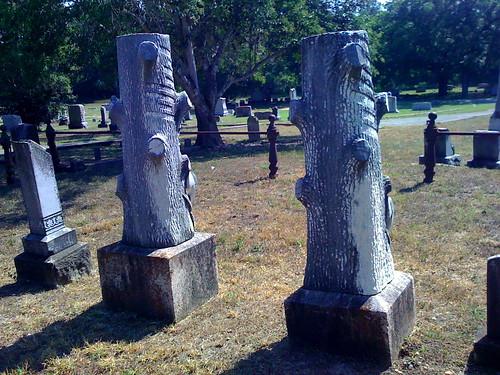headstones seguin riversidecemetery woodmenoftheworld georgeschmidt magdalenaschmidt