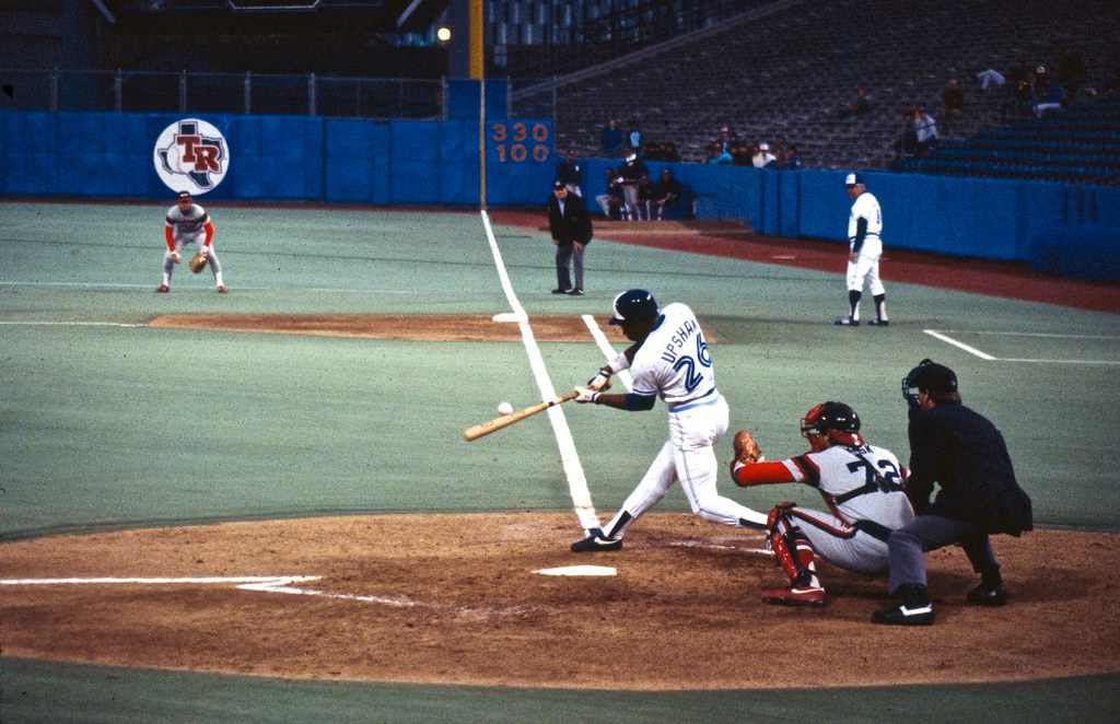 Jays at Exhibition Stadium, 1980's