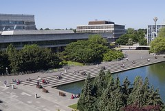 Lake and UCD Library