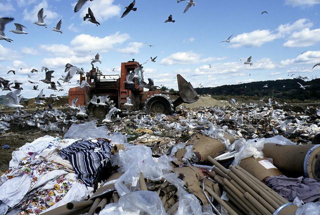 Landfill in Danbury, Connecticut