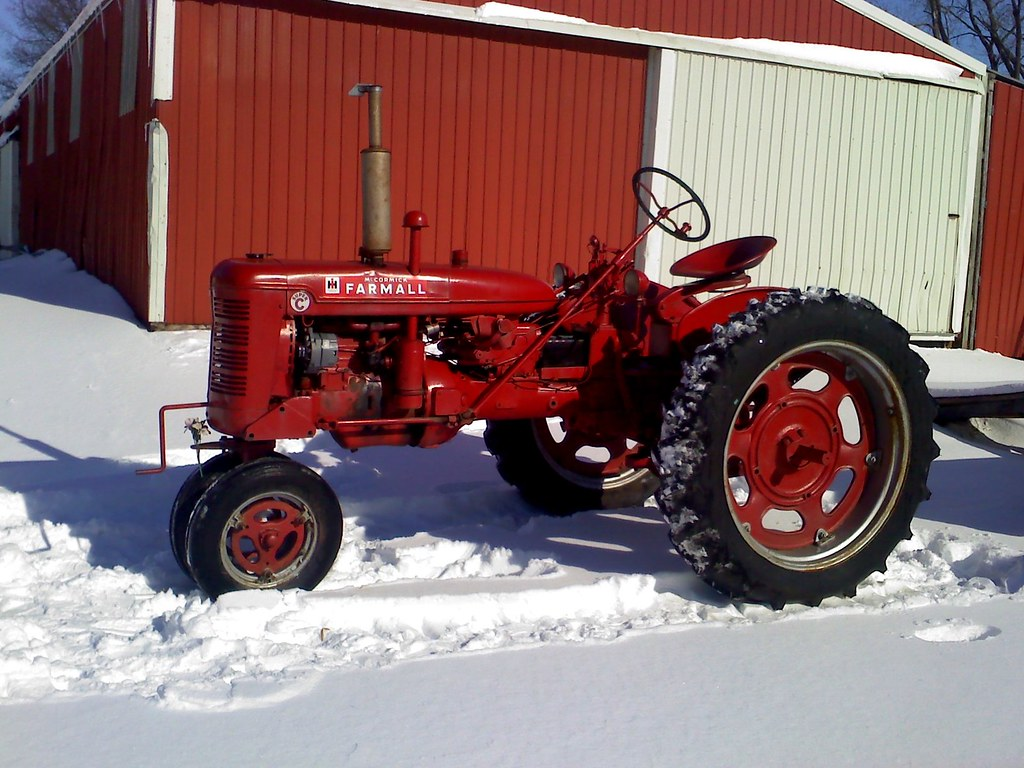 Farmall M Controls : Pictures of my new super c farmall cub