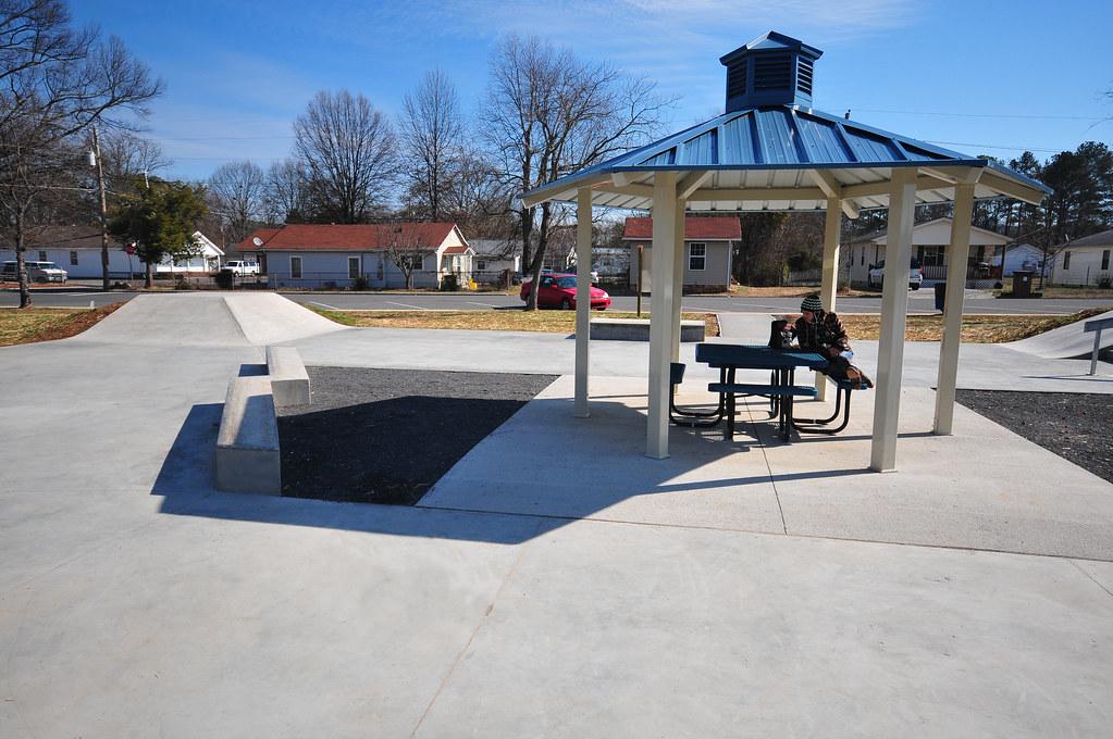 Dalton, Georgia Concrete Skatepark | With the winter season … | Flickr