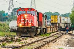 CN 5670   EMD SD75I   CN Fulton Subdivision