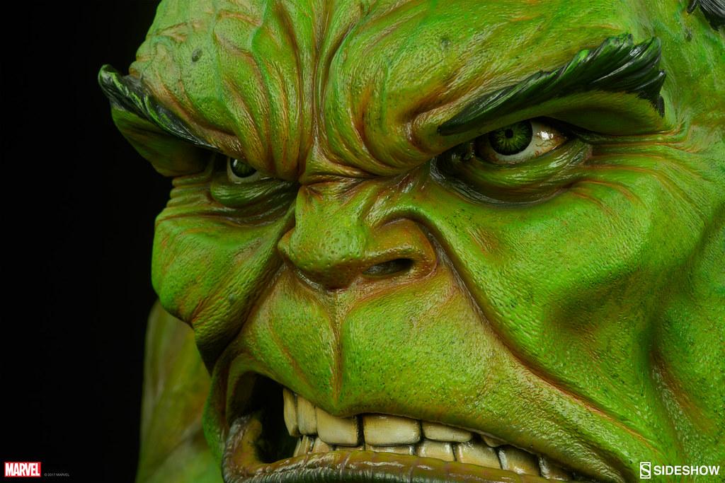 你縮水了嗎?!Sideshow Collectibles【無敵浩克 1:1 真人比例半身胸像】The Incredible Hulk Life-Size Bust