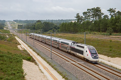 01 juillet 2017 TGV D 821 Train 27252 Bordeaux -> Rennes Clérac (17) - Photo of Clérac